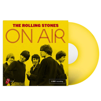Music  - The Rolling Stones Store Exclusive: On Air Yellow Vinyl