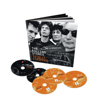 The Rolling Stones Totally Stripped Deluxe 4 DVD + CD Set