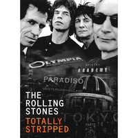 Music Videos  - The Rolling Stones Totally Stripped DVD