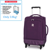 "19.3"" Single Exp side Bound Split Trolley Case"