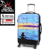 "23.6"" 8 Wheel Print Trolley Case"