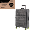 "25"" 8 Wheel Denim Trolley Case"