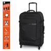 Black Carry Master 4 Wheels Large Suitcase