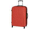 Red Clay Destinations 4 Wheel Large Suitcase