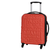 Red Clay Destinations 4 Wheel Small Suitcase