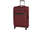 Red Contour 8 Wheels Large Suitcase