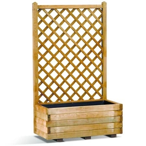 Flower Pots & Stands  - Basique Trellis Planter 66l X1