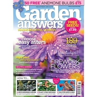 Vegetable Seeds  - Garden Answers Magazine Subscription