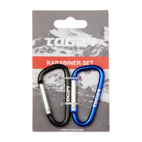 Accessories  - Tog 24 Carabiner Keyring Set of 2 Black/Blue