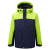 Tog 24 Cyclone Kids Milatex 3 in 1 Jacket Bright Lime/Dark Midnight