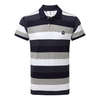 Tog 24 Palin Mens Polo Navy Stripe