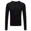 Tog 24 Smart Mens Tcz Merino Long Sleeve Crewneck Black