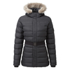 Softshell Jackets Tog 24 Storey Womens Long Insulated Jacket Black