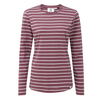 Women's Tog 24 Wynne Womens Stripe Long Sleeve T Shirt Mauve