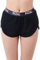 Clothing  - Baziic Black Runner Short