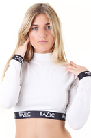 Clothing  - Baziic White Crop