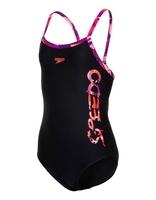 Swimming Costumes|Flip Flops|Trainers & Running Shoes  - Junior Girls Allover Splashback