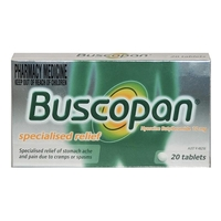 Other Digestion & Indigestion Products  - Buscopan - 20 Tablets