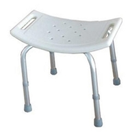Cosmetic & Toiletry Bags  - Lightweight Aluminium Shower Stool Bench - VAT Inclusive