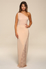 Carmel Blush Maxi Dress
