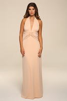 Elegant  - Louise Blush Maxi Dress