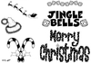 Art Stamps Jingle Bells Clear Stamp