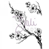 DaliArt DaliART Clear Stamp Cherry Blossom A6