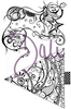 DaliArt DaliART Clear Stamp Henna Stocking & Christmas Tree