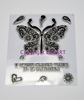 DaliArt DaliART Clear Stamp Indian Butterfly