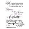 DaliArt DaliART Clear Stamp Life & Flower Sentiments A6