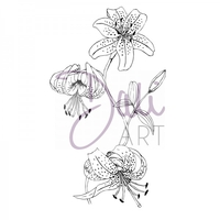 Stamps|Handicraft Tools  - DaliArt DaliART Clear Stamp Lilly Flowers A6