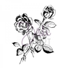 DaliArt DaliART Clear Stamp Rose A6