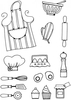 Lindsay Mason Designs Kitchen Bits Clear Stamp