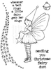 Lindsay Mason Designs Little Fairy A6 Clear Stamp