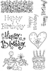 Lindsay Mason Designs LM Happy Birthday Set 1 Clear Stamps