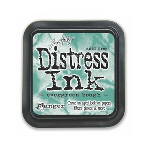Stamp Pads|Stamping Accessories|Paints & Inks|Handicraft Tools  - Ranger Ink Evergreen Bough Distress Ink Pads
