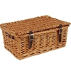 "Food Hampers 12"" Traditional Lidded Hamper"