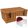 "18"" Traditional Lidded Hamper with Packaging"