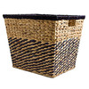 Food Hampers Chequered Water Hyacinth Basket
