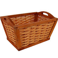 Wooden Framed Basket