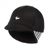 Belgian Style Cycling Cap - Black