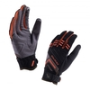 Dragon Eye Trail Gloves - Black / Olive Green / Orange