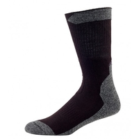 Outdoor Trail Mid Socks - Black / Grey