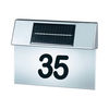 Stainless Steel Solar Powered House Number