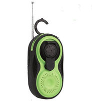 Novelty Gifts  - Wind Up Dynamo Shower Radio