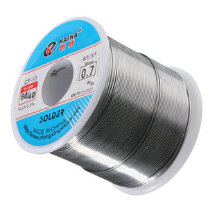 0.7mm 500g Soldering Wires Welding Iron Rosin Core 60/40 Lead Tin Flux 2.0 Percent