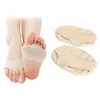 1 Pair of Forefoot Half Sole Protector Pad Relief Pain Silicone Gel Foot Care Cushions Large