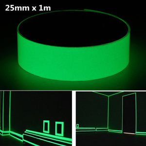 1MX25MM Luminous Tape Self-adhesive Glowing In The Dark Safety Stage Home Decor