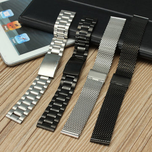 Batteries|Accessories for Mobile Phones|Smartwatch  - 20mm Stainless Steel Watch Band Strap Replacement For Samsung Gear S2 Classic