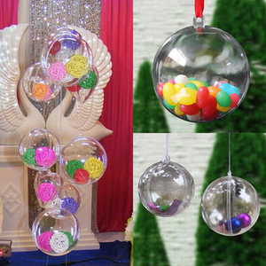 Headwear|Electronic Toys  - 30PCS 5mm Plastic Ball DIY Christmas Tree Hanging Bauble Decoration Ornament